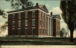 Jewell Hall, William Jewell Postcard