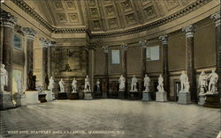 West Side, Statuary Hall, US Capitol