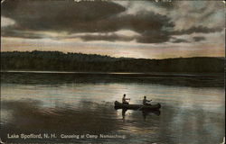 Canoeing at Camp Namaschaug