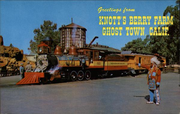 Knott's Berry Farm Ghost Town Buena Park California