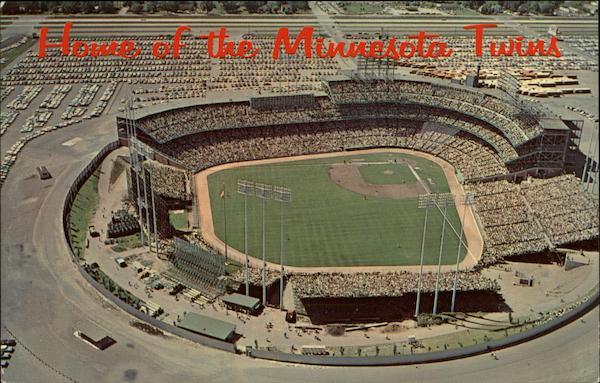 Aerial View Metropolitan Stadium Bloomington Mn