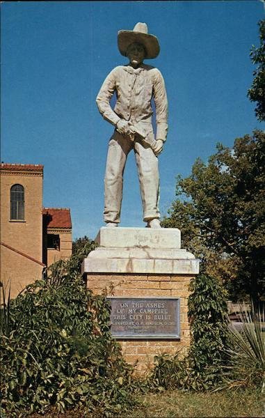 Cowboy Statue, Boot Hill Dodge City, KS