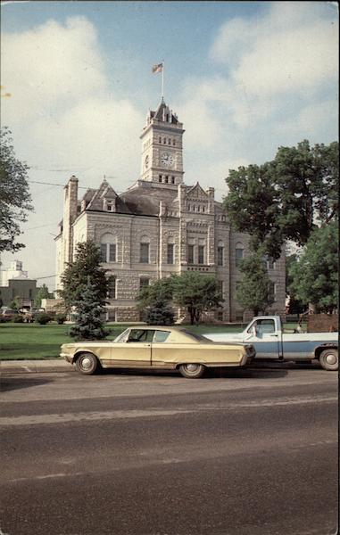 Clay County Courthouse, built in 1901 Clay Center Kansas