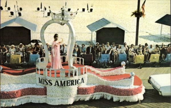There she goes, Miss America Atlantic City New Jersey