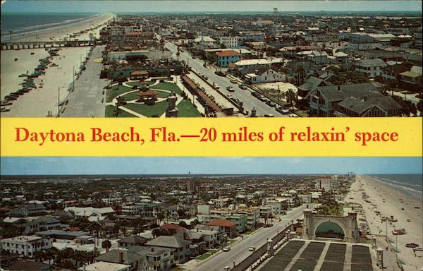 20 miles of relaxin' space Daytona Beach Florida John V. Pantiere, Jr