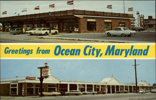 Greetings from Ocena City, Maryland Ocean City