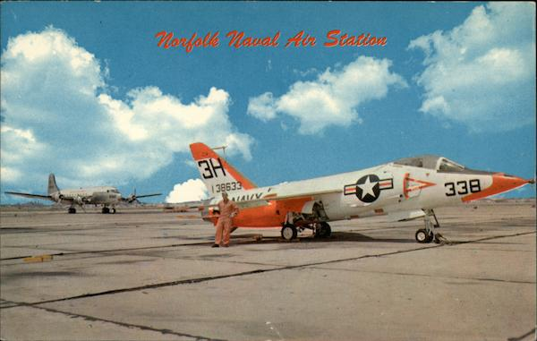 Norfolk Naval Air Station O'Connor Color Aircraft