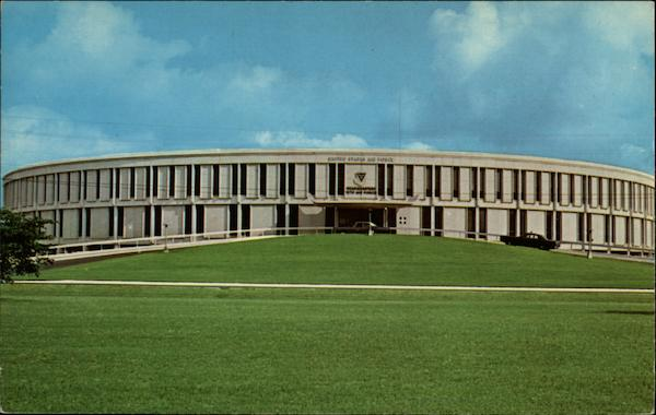12th Air Force Headquarters Bldg, Bergstrom Air Force Base Austin Texas