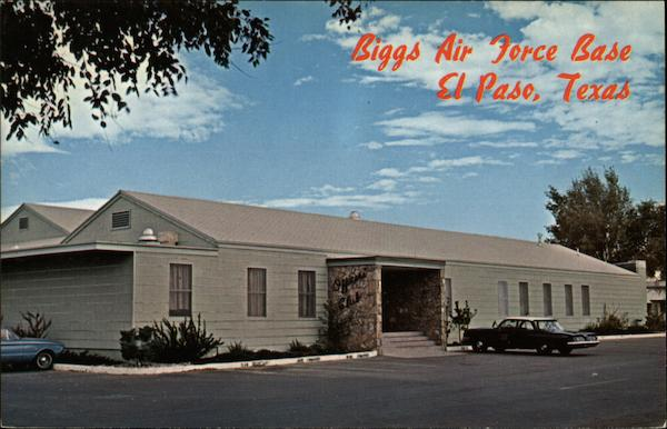 officers open mess  biggs air force base el paso  tx