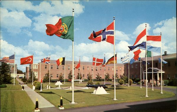 The NATO Headquarters of the Supreme Allied Commander Atlantic Norfolk Virginia