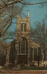 Saint John's Episcopal Church Postcard