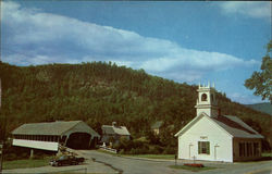 Covered Bridge and Church