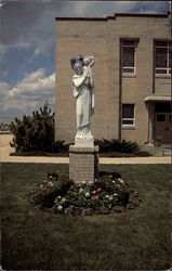 Statue of Our Lady, Our Lady of Peach Church