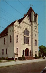 Methodist Church - Washington Street Postcard