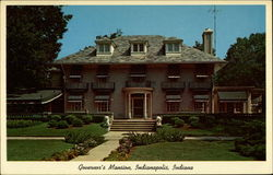 Governor's Mansion Postcard