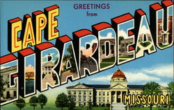 Greetings From Cape Girardeau Missouri