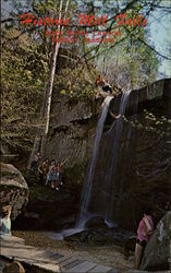 Historic Mill Falls, Rock Bridge Canyon, Hodges, Alabama
