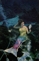 Mermaid Magic of Florida's Famous Weeki Wachee Postcard