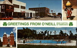 Greetings From O'Neill, Irish Capitol of Nebraska