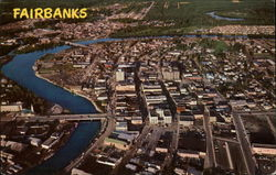 Aerial View of Fairbanks