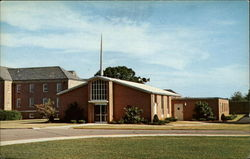 The Chapel, Veterans Administration Hospital Postcard