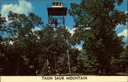 Lookout Tower atop Tarum Sauk Mountain
