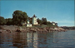 Hospital Point and Lighthouse, Beverly Harbor