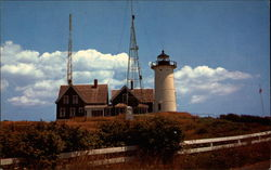 Coast Guard Lighthouse on Cape Cod