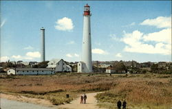Famous Lighthouse at Cape May Point