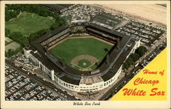 Home of the Chicago White Sox Postcard