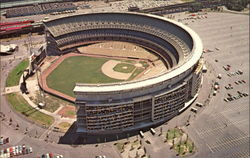 Aerial View of Shea Stadium