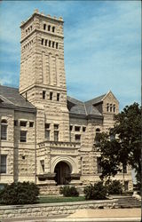 Geary County Courthouse, 1900 Postcard