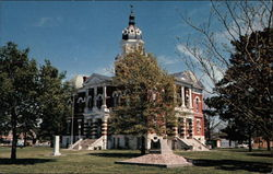 Johnson County Court House, built in 1888