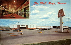 The Mall Postcard