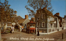 An entrance to Whaler's Wharf in Ports of Call Village Postcard