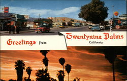 Greetings From Twentynine Palms California
