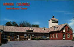 Amana Colonies - Smokehouse Tower and Meat Shop