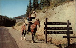 Official Montana Gate of Exit