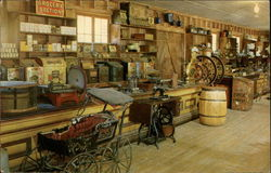 Interior of the Old Country Store, Rebeltown, Rebel Railroad