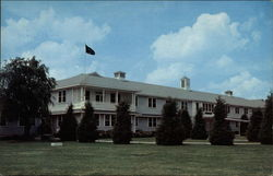 Administration Building Memphis Naval Air Station Postcard
