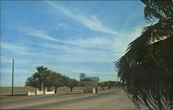 Entrance to Laughlin AFB