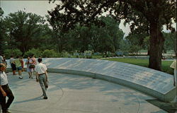 John F. Kennedy Memorial, Arlington National Cemetery