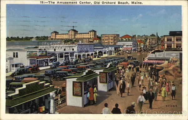 The Amusement Center, Old Orchard Beach, Maine