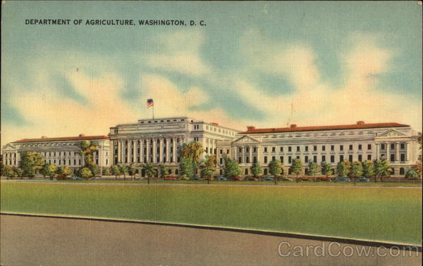 Department of Agriculture Washington District of Columbia