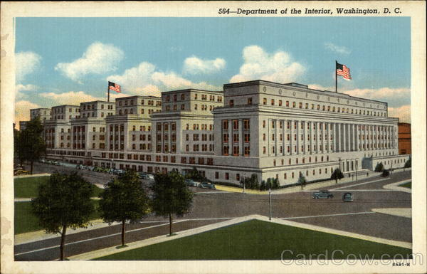 Department of the Interior Washington District of Columbia