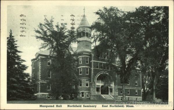 Marquand Hall, Northfield Seminary East Northfield Massachusetts