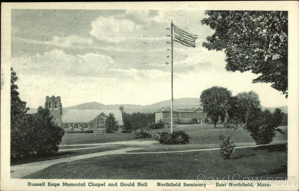 Russell Sage Memorial and Gould Hall, Northfield Seminary East Northfield Massachusetts