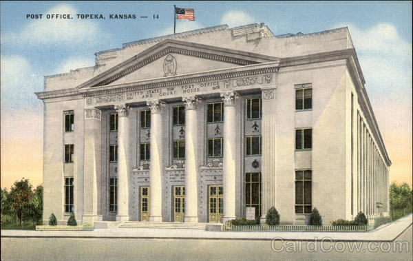 Post Office Topeka Kansas