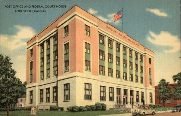 Fort Scott (KS) United States  city photos : ... house city state fort scott ks description the federal building at ft