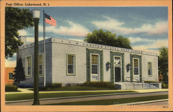 Post Office Lakewood New Jersey